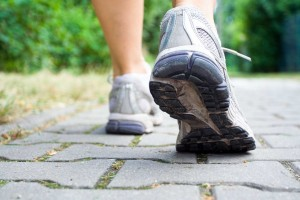 shoe foot runner