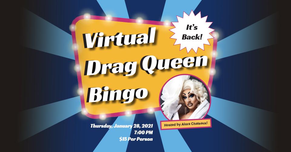 Drag Queen Bingo website slider