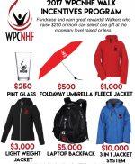 2017 Walk Incentive Program