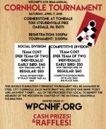 Register for WPCNHF's 4th Semi-Annual Cornhole Tournament