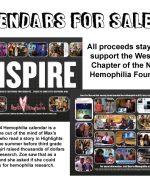 Hearts 4 Hemophilia Calendars 4 Sale