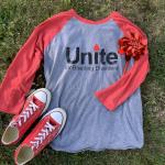 WPCNHF Unite For Bleeding Disorders Baseball T