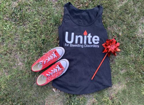WPCNHF Unite For Bleeding Disorders Ladies Tank Top